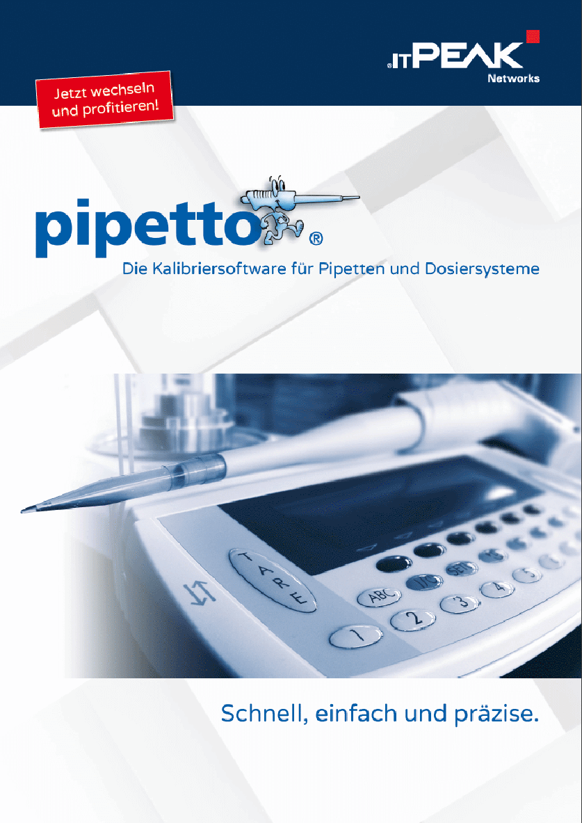 pipetto - brochure